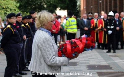 Trust Invited to Firefighters Memorial Service