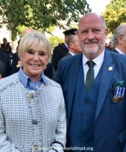 Mrs. Winner and Trustee Mr. Steve Lloyd represented the Police Memorial Trust
