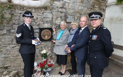 Memorial to murdered police officer unveiled in Richmond
