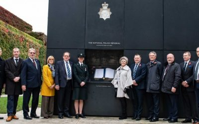 Newly Reprinted Police Roll Of Honour Unveiling Ceremony