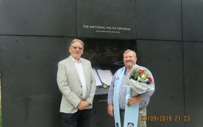 Father Dan Talbot from Australia visits the Memorial