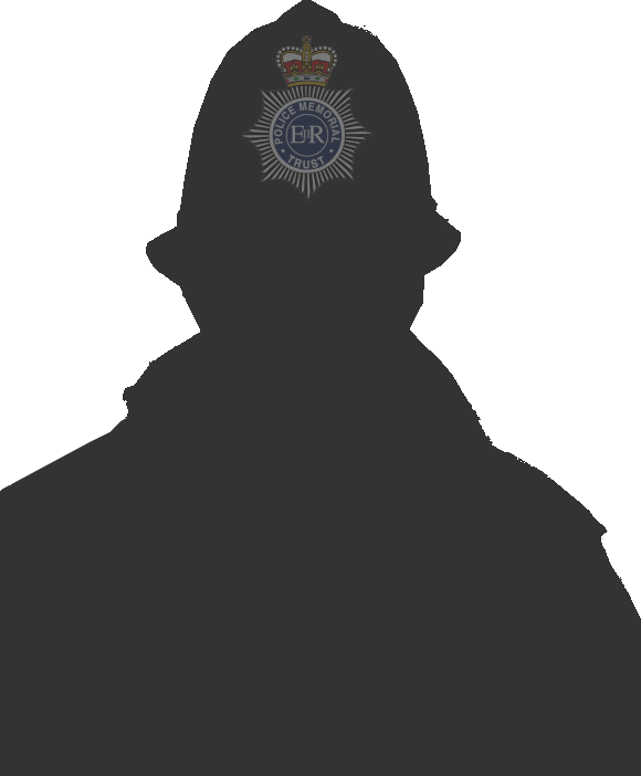 silhouette police officer