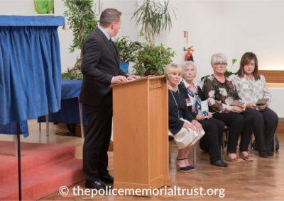 Captain Roger Goad Memorial Ceremony