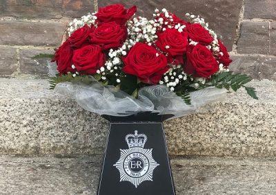 Captain Roger Goad War Memorial Flowers