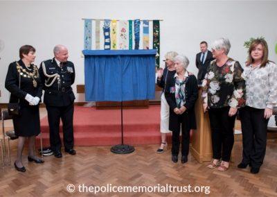 Captain Roger Philip Goad GC. BEM Memorial Unveiling 1