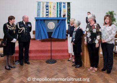 Captain Roger Philip Goad GC. BEM Memorial Unveiling 2