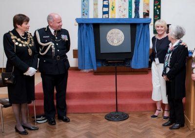Captain Roger Philip Goad GC. BEM Memorial Unveiling 3
