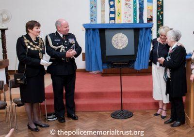 Captain Roger Philip Goad GC. BEM Memorial Unveiling 4