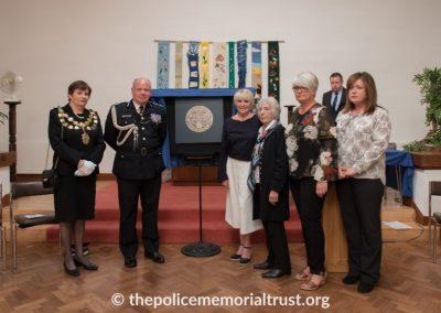 Captain Roger Philip Goad GC. BEM Memorial Unveiling 5