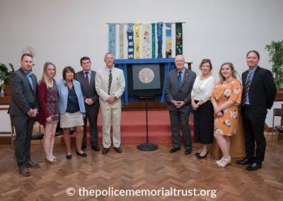 Captain Roger Philip Goad GC. BEM Memorial Unveiling 6