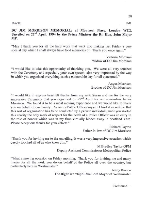 DC Jim Morrison QGM Letter 1