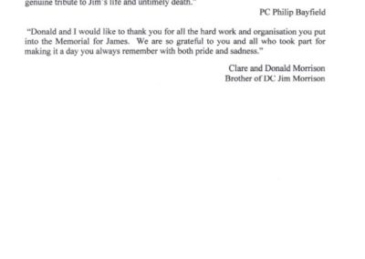 DC Jim Morrison QGM Letter 2