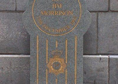 DC Jim Morrison QGM Memorial 1