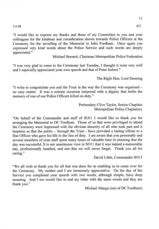DC John Fordham Letter 2