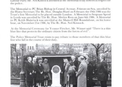 DC John Fordham Memorial Programme 2