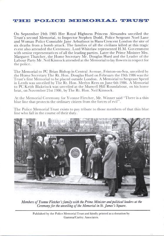 DC John Fordham Memorial Programme 4