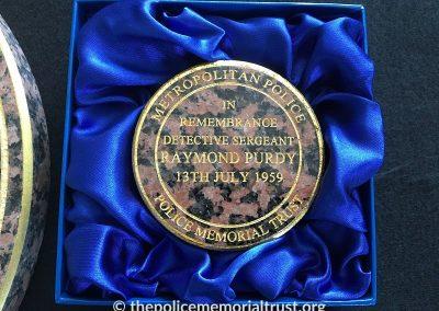 DS Raymond Purdy Memorial 6