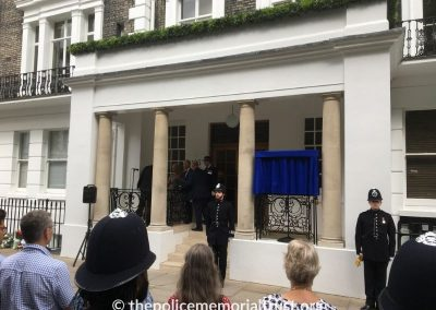 DS Raymond Purdy Memorial Unveiling 1