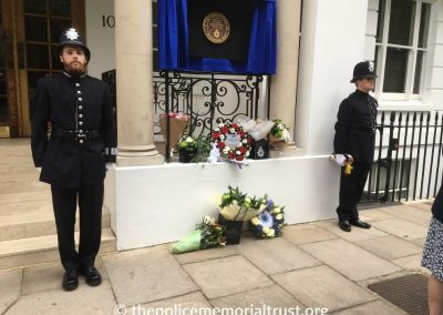 DS Raymond Purdy Memorial Unveiling 8