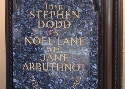 Dodd Lane Arbuthnot Memorial Plaque 3