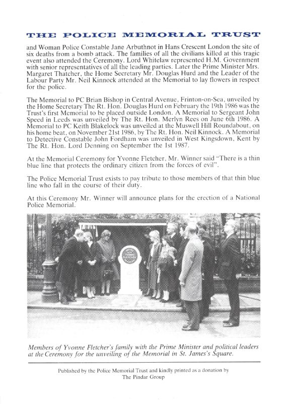 Fox Head Wombwell Memorial Programme 4