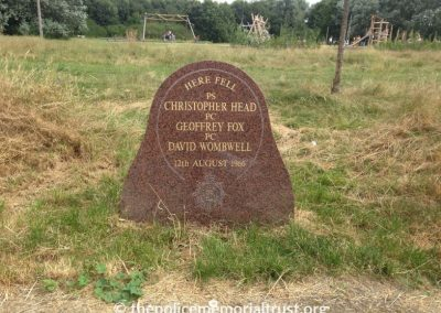 Fox Head Wombwell Memorial Stone 4