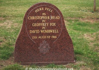 Fox Head Wombwell Memorial Stone 5