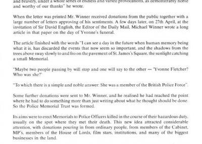Inspector Raymond Codling Memorial Programme 3