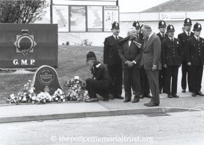 Inspector Raymond Codling Unveiling Photos 4