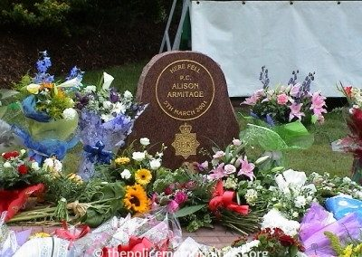 PC Alison Armitage Memorial