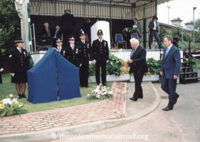 PC Alison Armitage Unveiling Photos 4