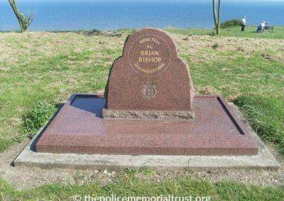 PC Brian Biship Memorial Stone Colour
