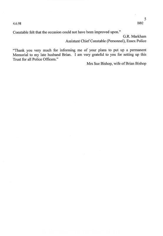 PC Brian Bishop Letter 2