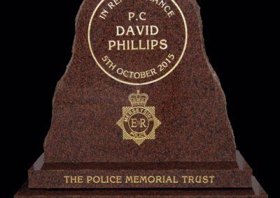 PC David Phillips Memorial