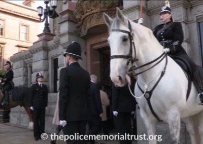 PC David Phillips Memorial Mounted Guard