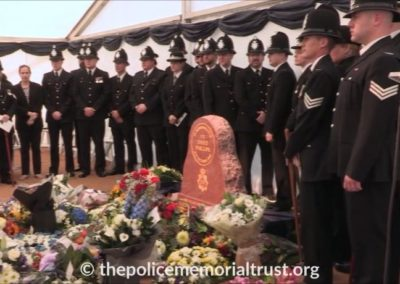 PC David Phillips Memorial Police Officers