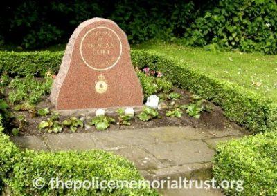 PC Duncan Clift Memorial 2