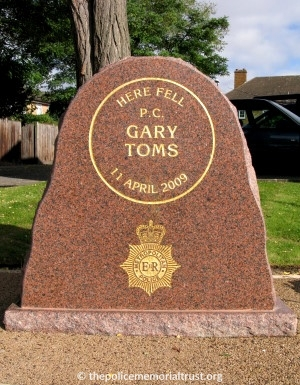 PC Gary Toms Memorial 2