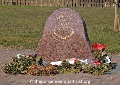 PC Gavin Carlton Memorail 2