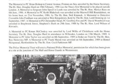 PC Gavin Carlton Memorial Programme 2