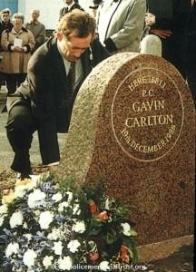 PC Gavin Carlton Unveiling Photos 4