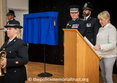 PC George Snipe Memorial Unveiling Ceremony 11