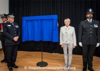 PC George Snipe Memorial Unveiling Ceremony 12