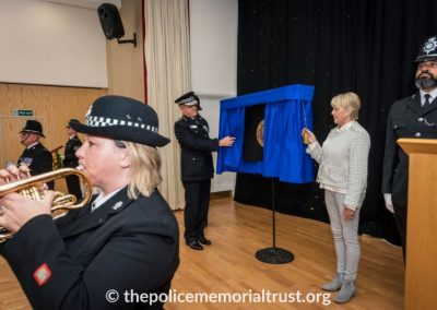 PC George Snipe Memorial Unveiling Ceremony 13