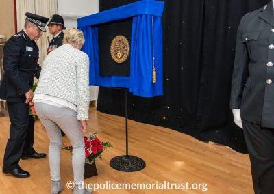 PC George Snipe Memorial Unveiling Ceremony 15