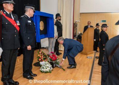 PC George Snipe Memorial Unveiling Ceremony 17