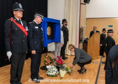 PC George Snipe Memorial Unveiling Ceremony 18