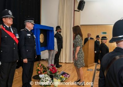 PC George Snipe Memorial Unveiling Ceremony 19
