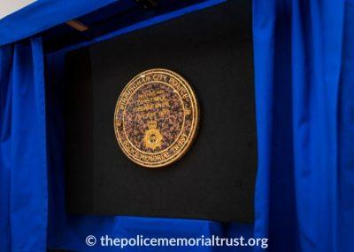 PC George Snipe Memorial Unveiling Ceremony 2