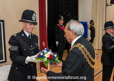PC George Snipe Memorial Unveiling Ceremony 20